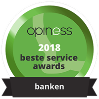 Opiness beste service awards 2018